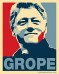 OBAMA grope